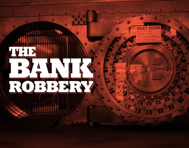 mazebase game room bank robbery vault